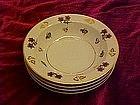 """Noritake avalon 5 5/8""""  rimmed dessert bowls"""