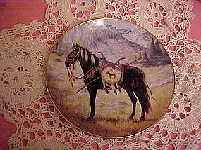 Proud Companion, a Blackfoot War Pony, by Perillo