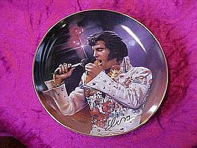 The King,Remembering Elvis Series,Bradford Exchange