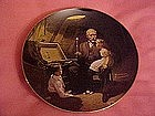 Grandpa's treasure Chest, Norman Rockwell plate