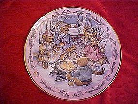 Teddy Bear Bonfire,by Linda Hill Griffith,Royal Doulton