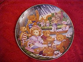 A Teddy Bear Picnic, Carol Lawson, Franklin Mint