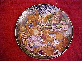 A Teddy Bear Picnic, Carol Lawson, Franklin Mint