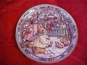 Teddy Bear Snowball Fight, Linda Hill Griffith