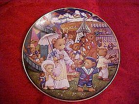 Teddy Bear Fair, by Carol Lawson, Franklin Mint
