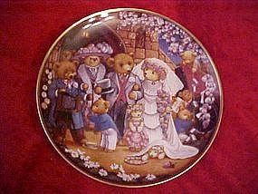 Teddy Bear Wedding, Carol Lawson,Franklin Mint