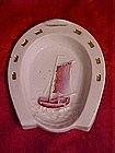 Horseshoe dish with sailing ship, Germany