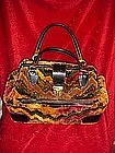 Vintage carpet bag/ satchel/purse