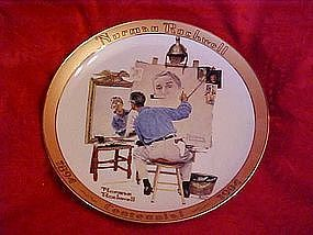 Triple Self Portrait, Rockwell commemorative stamps