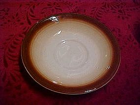 Franciscan Sierra brown saucer