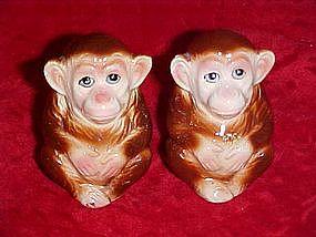Monkey  salt and pepper shakers