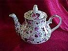 Victorian Rose chintz teapot