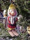 Chennile & felt Christmas elf ornament