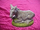 Donkey or Mule figurine for Nativity/ creche