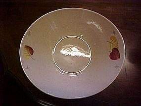Vernon's Sherwood pattern serving bowl. Metlox