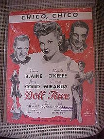 CHICO,CHICO (from Porto Rico), from movie Doll Face