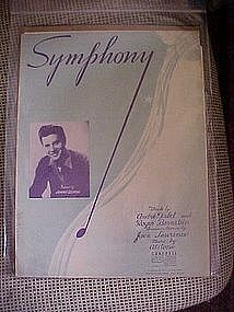 Symphony by Andre Tabet and Roger Bernstein 1955