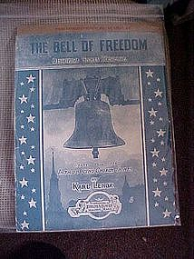 The Bell of Freedom, Descriptive Chimes Reverie, 1915