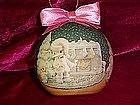 Enesco Precious Moments decopage ornament 1994
