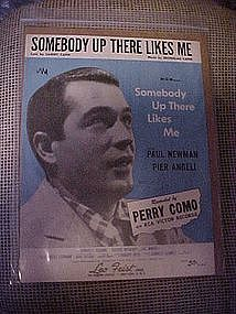 Somebody up there likes me,  1956 music from the movie