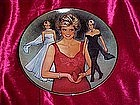 Franklin Mint, Queen of fashion, princess Diana plate
