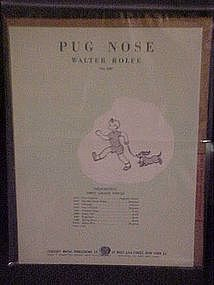 Pug Nose by Walter Rolfe, 1950