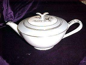 CBC China Japan teapot, Pine cone and needles pattern