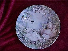 Not like the others, The Ugly Duckling series, plate