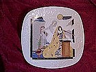 The Annunciation, collector plate by Eve Licea 1988