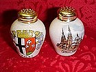 Souvenir shakers from Fulda-Dom Germany