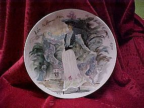 Lea, Plate #7 Women of the century, D'Arceau Limoges