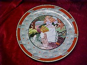 A tisket A tasket, Renee`  Faure collector plate