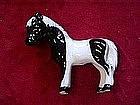 Hagen Renaker shetland pony, paint