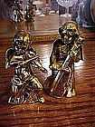 Ardco  ceramic, gold plated angels