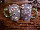 Waverly blue chintz range shakers