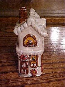 Victorian toy shop salt and pepper shaker set