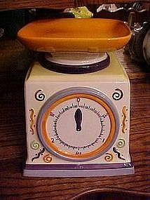 Kitchen Scales, cookie jar
