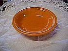 Homer Laughlin Fiesta dessert /sauce bowl, tangerine