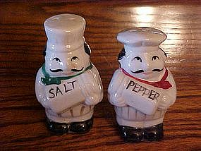 Two Chefs, salt and pepper shakers