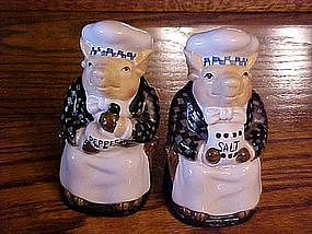 Great Pigs, salt and pepper shakers by Dept 56