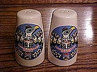 Totem pole salt and pepper shakers, British colombia