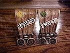 Covered wagon ceramic salt and pepper shaker set