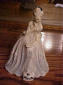 Goldschider Victorian lady at the vanity figurine