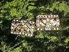 Nice goldtone rhinestone clip earrings