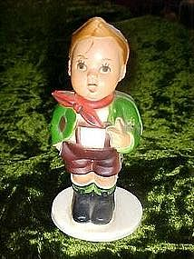 Plastic Hummel look, boy ornament, Hong Kong