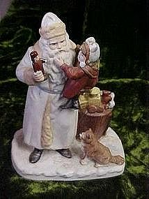 Enesco Surprizes from Santa circa 1890, figurine