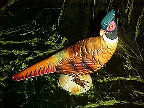 Ring neck pheasant hour'derves centerpiece