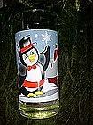 Seasons greetings  from Pepsi, Penguin glass