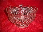 Anchor Hocking Wexford, Large footed  fruit bowl