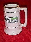 Nastar Lite beer mug, made by Concepts Unlimited Inc